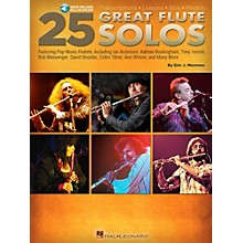 Hal Leonard 25 Great Flute Solos Book/Audio Online