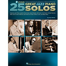 Hal Leonard 25 Great Jazz Piano Solos - Transcriptions