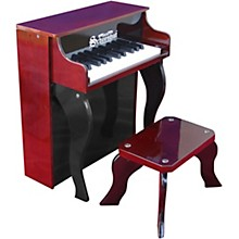 25-Key Elite Spinet Toy Piano Red/Black