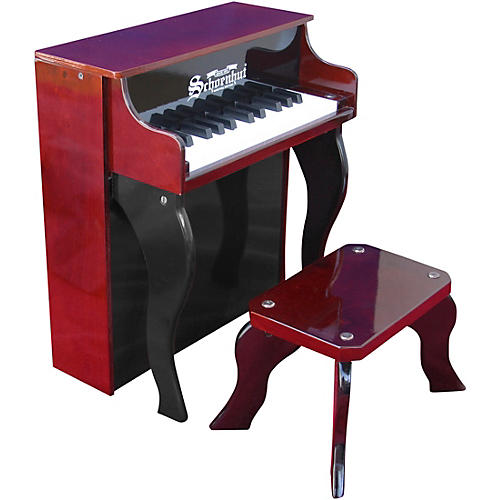 Schoenhut 25-Key Elite Spinet Toy Piano Red/Black