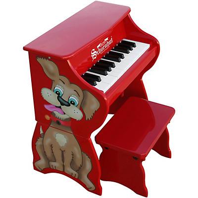 Schoenhut 25-Key Toy Piano with Bench