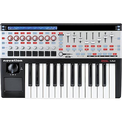 Novation 25 SL MkII Keyboard Controller