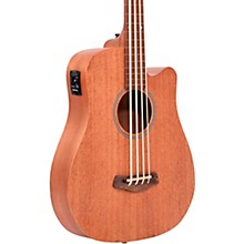 """Open BoxGold Tone 25"""" Scale Fretless Acoustic-Electric MicroBass"""