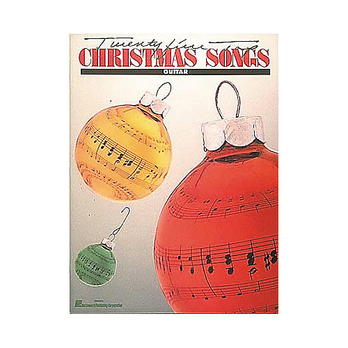 Hal Leonard 25 Top Christmas Songs Guitar Book