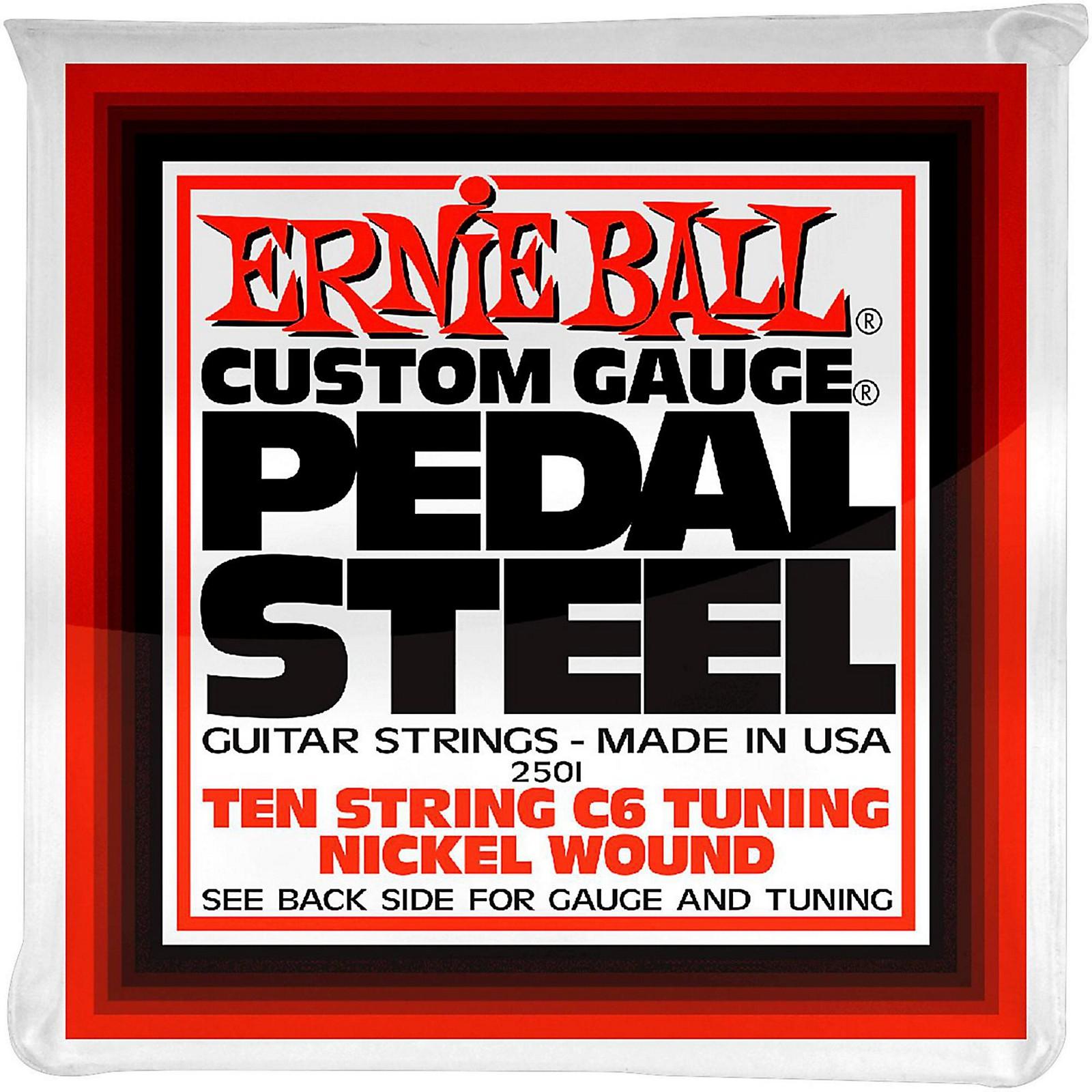 Ernie Ball 2501 10-String C6 Pedal Steel Guitar Strings