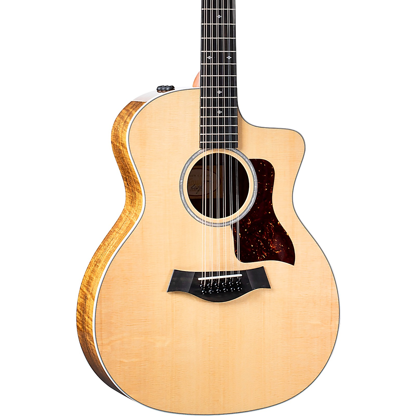Taylor 254ce Figured Ovangkol Deluxe Limited-Edition 12-String Grand Auditorium Acoustic-Electric Guitar