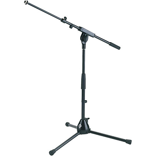 K&M 25900.500.55 Medium Height Tripod Mic Stand with Adjustable Boom