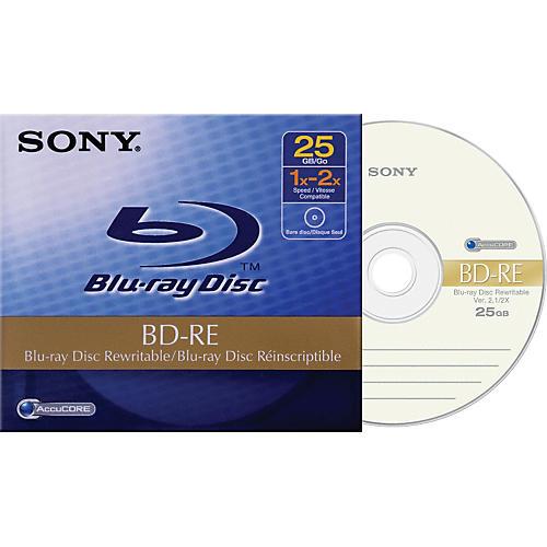 Sony 25GB BD-RE Rewritable Disc