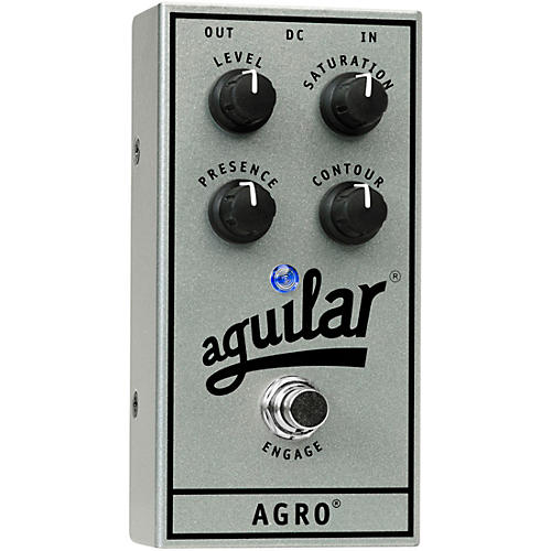 Aguilar 25th Anniversary AGRO Pedal Silver
