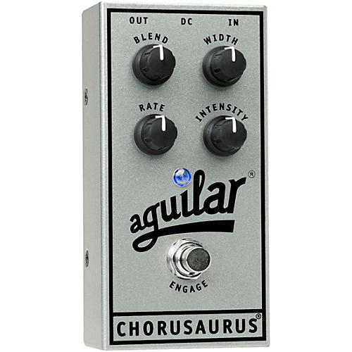 Aguilar 25th Anniversary Chorusaurus Chorus Bass Effects Pedal Silver