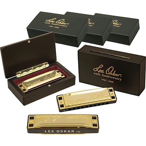 Lee Oskar 25th Anniversary Major Diatonic Autographed Harmonica 5-Pack