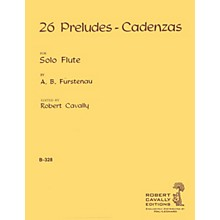 Hal Leonard 26 Preludes - Cadenzas (Unaccompanied Flute) Robert Cavally Editions Series Composed by A.B. Furstenau