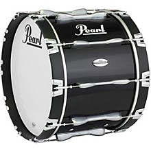 26 x 14 in. Championship Maple Marching Bass Drum Midnight Black