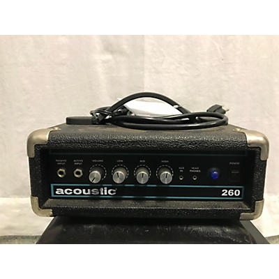 Acoustic 260-H Bass Amp Head