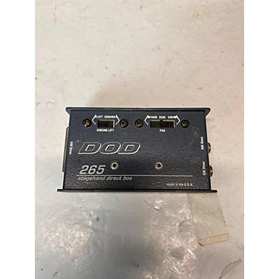 DOD 265 STAGEHAND DIRECT BOX Direct Box