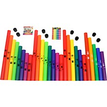Open BoxBoomwhackers 27 Tube Classroom Pack With Free Play-Along DVD.