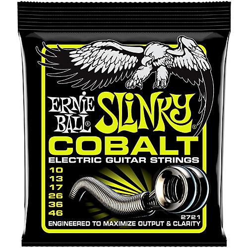 Ernie Ball 2721 Cobalt Regular Slinky Electric Guitar Strings