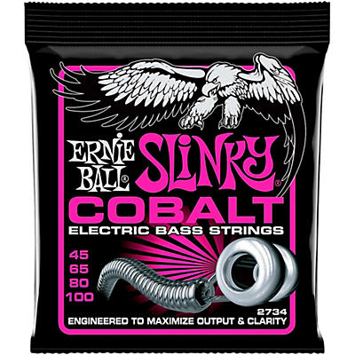 Ernie Ball 2734 Cobalt Super Slinky Electric Bass Strings