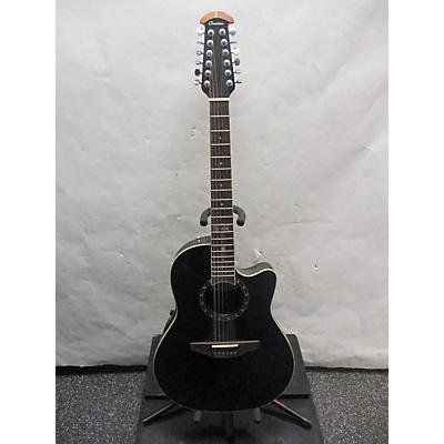 Ovation 2751AX Standard Balladeer 12 String Acoustic Electric Guitar