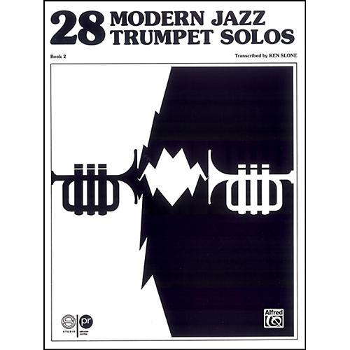 Alfred 28 Modern Jazz Trumpet Solos Book 2