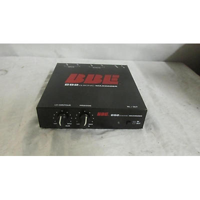 BBE 282iQ Desktop Sonic Maximizer With Unbalanced 1\4in Connections Exciter