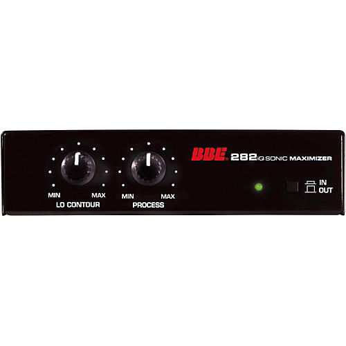 BBE 282iQ Desktop Sonic Maximizer with Unbalanced 1\4