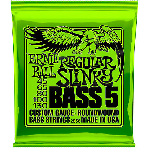 ernie ball 2836 slinky 5 string bass strings musician 39 s friend. Black Bedroom Furniture Sets. Home Design Ideas