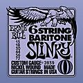Ernie Ball 2839 Baritone Electric Guitar String Set thumbnail
