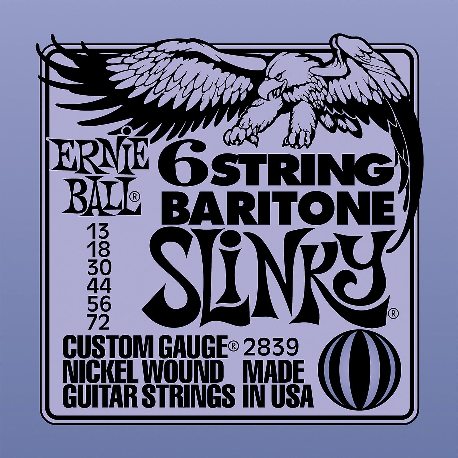 Ernie Ball 2839 Baritone Electric Guitar String Set