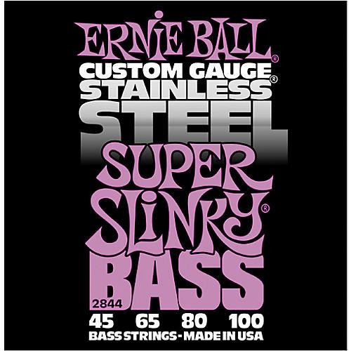 Ernie Ball 2844 Super Slinky Stainless Steel Bass Strings