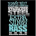 Ernie Ball 2845 Extra Slinky Stainless Steel Bass Strings thumbnail