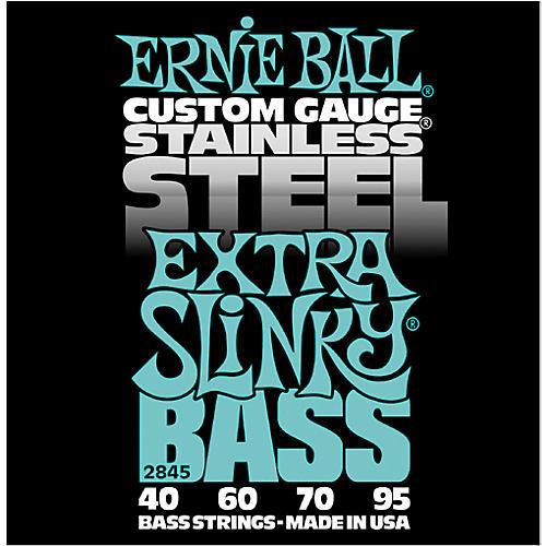 Ernie Ball 2845 Extra Slinky Stainless Steel Bass Strings