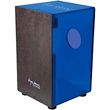 29 Series Acrylic Cajon Royal Blue Black Makah Burl Front Plate