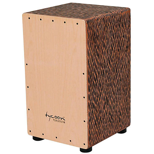 Tycoon Percussion 29 Series Supremo Select Cajon Chiseled Orange