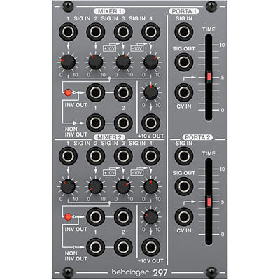 Behringer 297 Portamento Controller and CV Utilities Eurorack Module