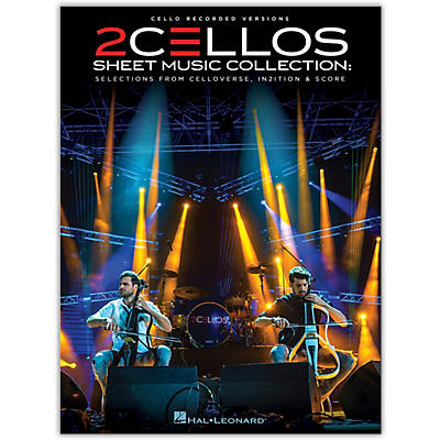 Hal Leonard 2Cellos-Sheet Music Collection: Selections from Celloverse, In2ition & Score for Two Cellos