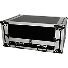 Open Box ProX 2U Rack x 13U Top Mixer DJ Combo Flight Case with Laptop Shelf