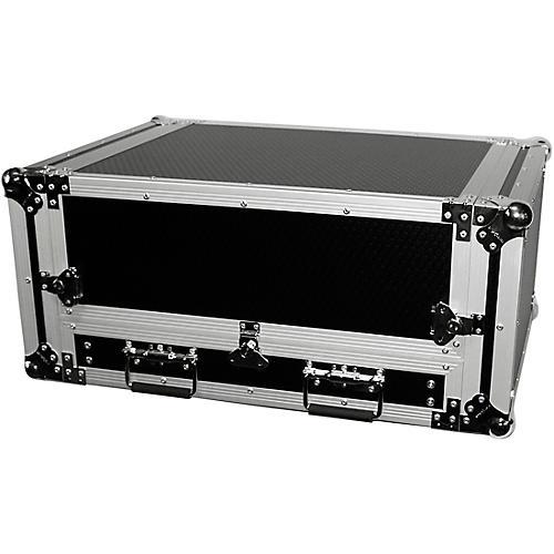 ProX 2U Rack x 13U Top Mixer DJ Combo Flight Case with Laptop Shelf