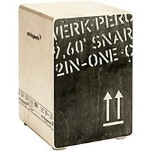 2inOne Snare Cajon 45 cm Black