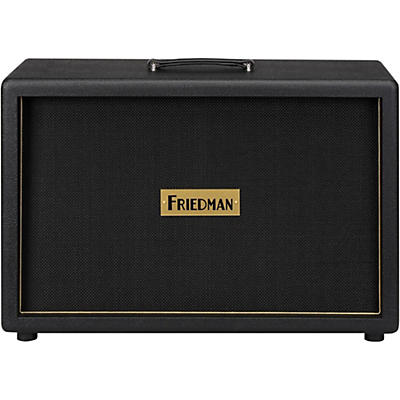 "Friedman 2x12"" Ported Closed Back Guitar Cabinet with Celestion Vintage 30s"