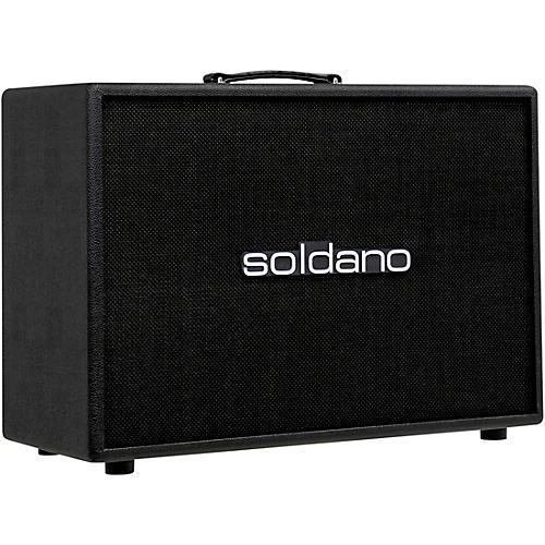 Soldano 2x12 Straight Vintage 30 Cab Black