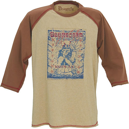 Dragonfly Clothing 3/4 Sleeve Dragonfly Wants You Shirt