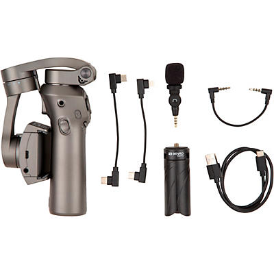 BENRO 3 Axis Handheld Gimbal for Smartphone with Saramonic SmartMic