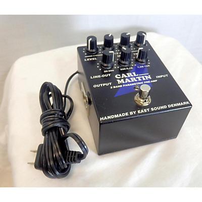 Carl Martin 3-Band Parametric EQ/Pre-amp Pedal