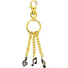 AIM 3 Charm Music Note Keychain