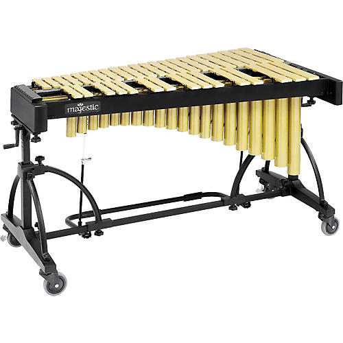 Majestic 3-Octave Vibraphone Gold Gold