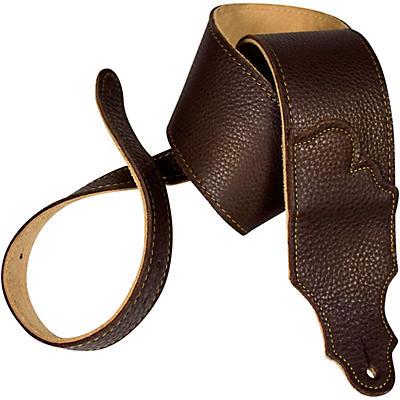 "Franklin Strap 3"" Original Natural Glove Leather Guitar Strap"