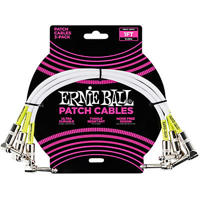 Ernie Ball 3-Pack Patch Cables