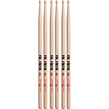 3-Pair American Classic Hickory Drumsticks Wood 55A