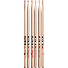 3-Pair American Classic Hickory Drumsticks Wood Rock